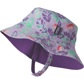 Patagonia Sun Bucket Hat Garibaldi Tropics: Petoskey Purple